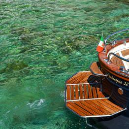 Capri Summer Tour - Boat Tour of Capri + Stop at La Conca Del Sogno