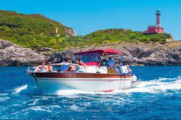Tour in barca a Capri con partenza da Positano