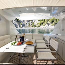 Charter System  - Rizzardi 60 yacht