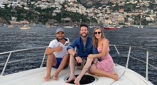 Charter System  - Private Boat Tour: Positano and Amalfi from Sorrento
