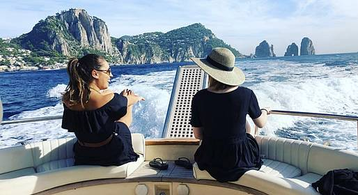 Charter System  - Tour in barca privata : Capri e Positano