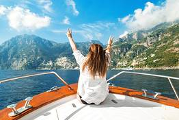 Private Boat Tour from Sorrento to Positano and Amalfi