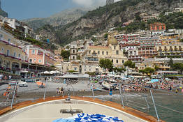 Amalfi and Positano: Private Boat Tour from Sorrento