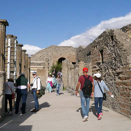 WorldTours - Pompeii Tour Departing from Salerno