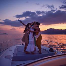 Positano Luxury Boats  - Tramonto in Costiera Amalfitana