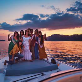 Positano Luxury Boats  - Tramonto in la Costiera Amalfitana