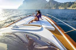 Tour privato in barca luxury a Capri e Positano