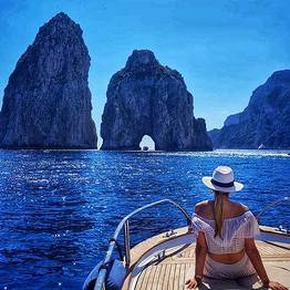 Misal Sorrento Boat Charter - Luxury Capri and Nerano Tour via Itama 40 Speedboat