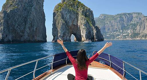 Capri Summer Tour - Transfer in barca privata da e per Capri
