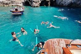 Tour Capri+Grotta Azzurra, mezza giornata