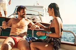 Penisola Sorrentina, tour privato in barca al tramonto