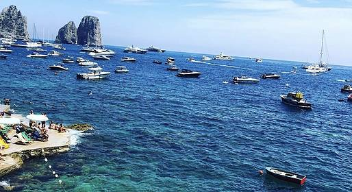 Charter System  - Capri Private boat tour & Lunch in  Nerano - (Full Day)