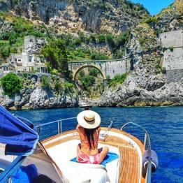 Misal Sorrento Boat Charter - Luxury Amalfi & Positano Classic tour 100%Italian Style