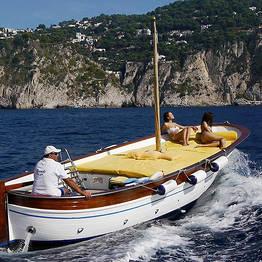Capri Relax Boats - Full Day Capri and Nerano Boat Tour