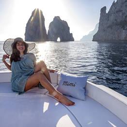 Misal Sorrento Boat Charter - Capri and Nerano Tour by Gozzo:the true Italian style