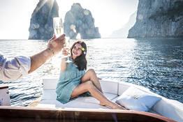 """Tour a Capri e Nerano in """"Gozzo"""":il vero stile Italiano"""