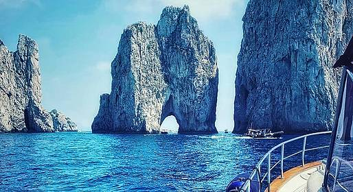 "Misal Sorrento Boat Charter - ""Capri Classic Tour"" from your Cruise Ship"