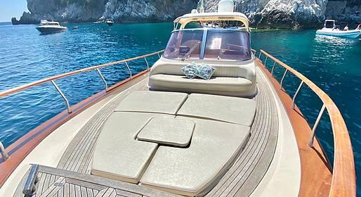 Capri Boat Service - Capri by Sea: Private Tour via a Chic Gozzo Boat