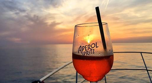 Capri Boat Service - Capri Sunset Sail and Romantic Dinner at Sea
