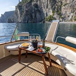 Charter System  -  Capri Boat Tour on a Private Boat 38 FT