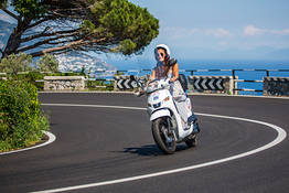 Scooter Rental on the Amalfi Coast for 2 and more days