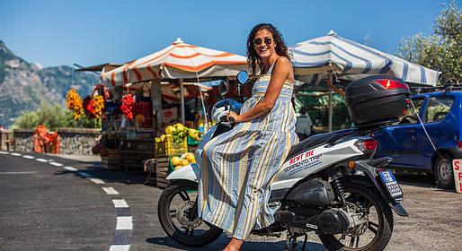 Bike Sharing Sorrento - Noleggio scooter Sorrento più giorni