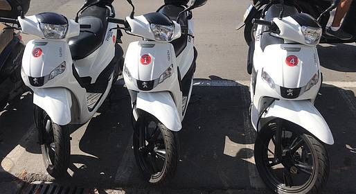 Bike sharing Sorrento - Scooter Rental (125 cc) on the Sorrentine Peninsula