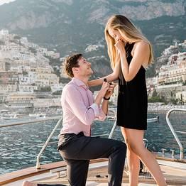 Positano Luxury Boats  - Proposta di matrimonio  a Positano