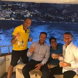 Positano Luxury Boats  - Aperitif on board