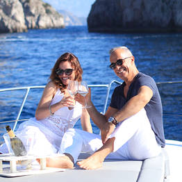 Positano Luxury Boats  - Aperitivo with Campagne