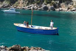 Capri Gozzo Boat Rental - No Skipper or License Needed