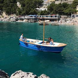Capri Island Tour - Capri Gozzo Boat Rental - No Skipper or License Needed