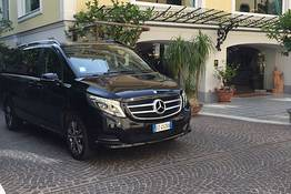 Private & Guided Tour of the Amalfi Coast via Mercedes