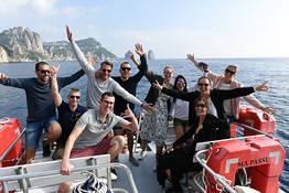 Capri Boat Tour with Stop to Swim!