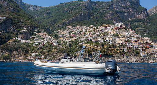 Lucibello  - Positano Dinghy Rental: Boating License Required!