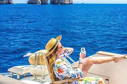 Dazzling Capri Tour by Luxury Yacht or Gozzo