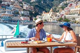 Scenic Amalfi Coast Tour by Luxury Yacht or Gozzo