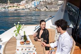 Capri + Amalfi Coast by Private Luxury Yacht or Gozzo