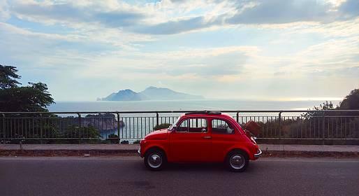 Enjoy Bike Sorrento - Tour Enogastronomico in Fiat 500