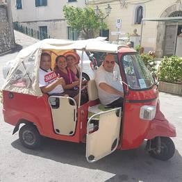 Enjoy Bike Sorrento - Tour in Fiat 500 con degustazione di prodotti tipici