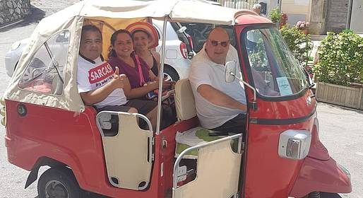 Enjoy Bike Sorrento - Food Tour via Classic Fiat 500