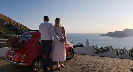 Enjoy Bike Sorrento - Fototour al tramonto in Penisola Sorrentina su Fiat 500