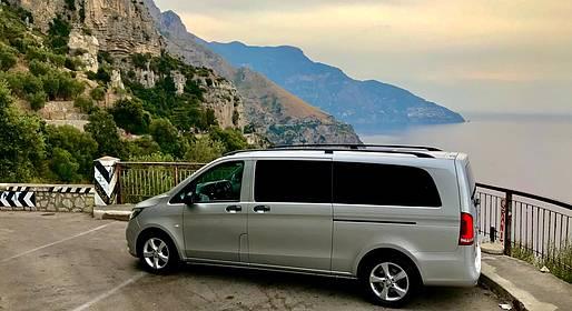 Star Cars - Tour privato a Positano e Pompei + stop degustazione
