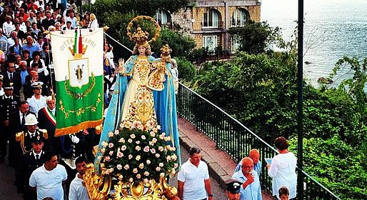 Capri Online - Feast Day of the Madonna della Libera