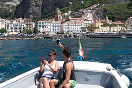 Positano + Emerald Grotto Boat Tour