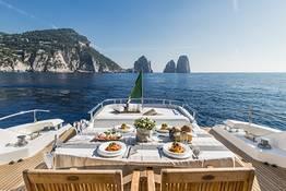 Capri tour, Luxury Yacht from Sorrento or Positano