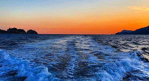 Crapolla Charter - Sunset Boat Tour from Positano (Small-Group)