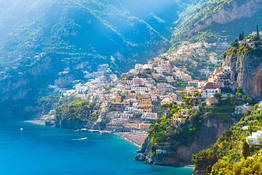 From Naples Hydrofoil to Amalfi and Positano