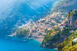 From Castellammare Hydrofoil to Amalfi and Positano