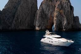 Full-Day Capri Luxury Yacht Cruise